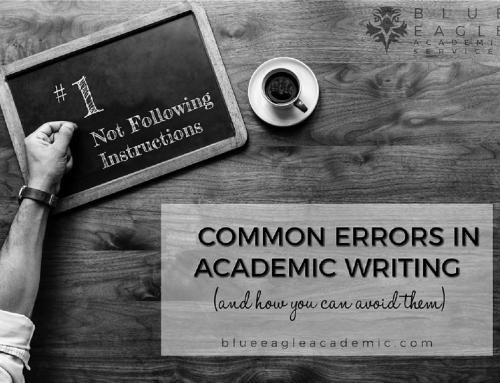 خطاهای رایج نوشتاری در نگارش آکادمیک